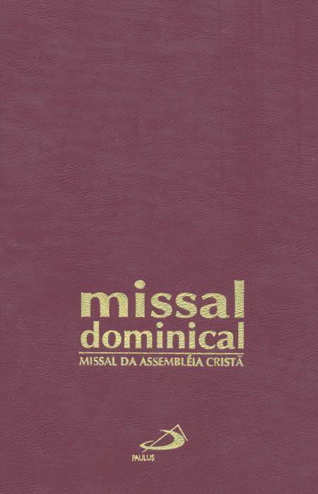 Missal dominical da assembleia cristã - Encadernado-0