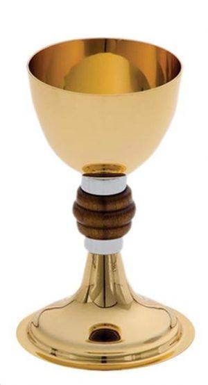Cálice Miolo de Madeira Dourado Total Ref.8114-0