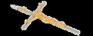 Crucifixo de Mesa 15cm-0