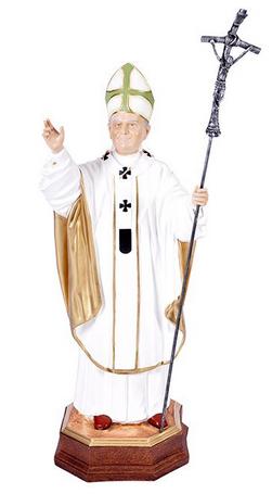 Imagem João Paulo II Resina 100cm-0