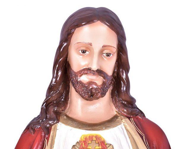 Imagem Sagrado Coração de Jesus Resina 100cm-2011
