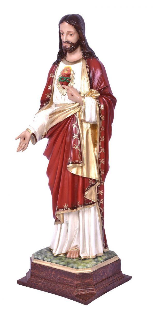 Imagem Sagrado Coração de Jesus Resina 100cm-2013